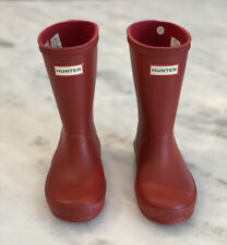 Hunter Toddler First Rain Boots Us 10