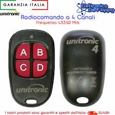 TELECOMANDO UNIVERSALE APRICANCELLO COMPATIBILE CAME, FAAC, NICE, FADINI, BFT