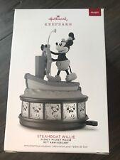 2018 Hallmark Disney Mickey Mouse Steamboat Willie 90th Anniversary Ornament
