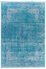 Tapis bleu pour la maison, 180 cm x 180 cm