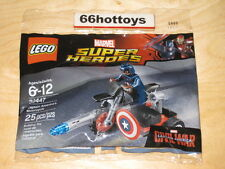LEGO Marvel Super Heroes 30447 Captain America's Motorcycle  NEW