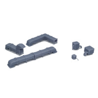 Outland Models Railroad Scenery Rooftop Ventilation Air Conditioner Set HO Scale