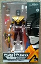 Mighty Morphin Power Rangers Black Ranger Walgreens exclusive lighning figure