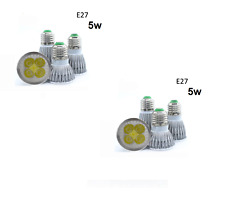 8x FUTURE BRITE  E27-41 COOL WHITE LED BULB 5W  LIGHT GLOBE SCREW IN AC90-240V
