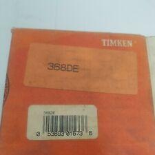 2 Timken 368de Tapered Roller Bearing Double Cone Standard Tolerance Nos