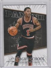2013-14 Panini Knight School Chicago Bulls Basketball Card #10 Derrick Rose