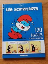 bande dessinée BD : 120 blagues de schtroumpfs tome 3