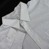 Mens Brooks Brothers 1818 Classic Fit Striped Oxford Dress Shirt Size 18-35 XXL