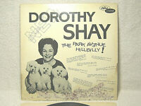 DOROTHY SHAY - THE PARK AVENUE HILLBILLY - VINYL LP RECORD - SIGNED COVER