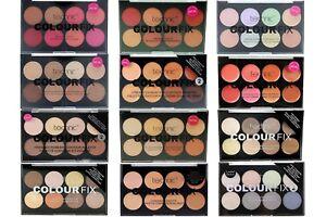 Technic Colour Fix Face Palette Blush Bronze Conceal Correct Contour Highlight