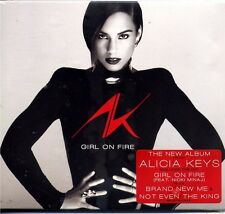 CD - ALICIA KEYS - Girl on fire