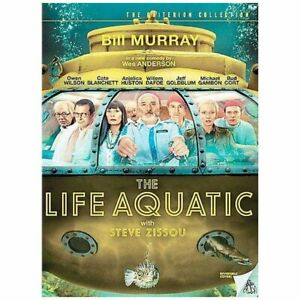 Like New The Life Aquatic with Steve Zissou Bill Murray Cate Blanchett  2005