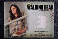Cryptozoic Walking Dead Season 3 M2 THICK SEAM VARIANT Wardrobe Trading Card