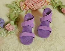 "Dark Lavender~ High Heel Doll Shoes for 18"" & 20"" Miss Revlon, Cissy & O"