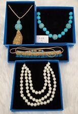 HSN Necklace   Lot of 4   Wholesale Pricing   Kenneth Jay Lane   Deepa Gurnani