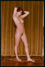 en26 Pinup pin up nude model girl woman original vintage c1970-1990s color photo