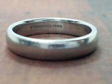 Tiffany & Co. 950 Platinum Men Wedding Band
