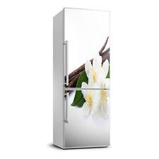 3D Art Refrigerator Kitchen Removable Sticker Magnet Flowers Jasmine and vanilla