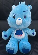Grumpy Care Bear Plush  Soft Toy 2007  rare Excellent condition.