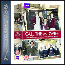 CALL THE MIDWIFE - COMPLETE SERIES SEASONS 1 2 & 3 ***BRAND NEW DVD BOXSET ****.