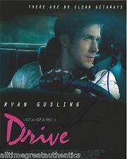 RYAN GOSLING NICOLAS WINDING REFN SIGNED DRIVE ONLY GOD FORGIVES 8X10 PHOTO COA!