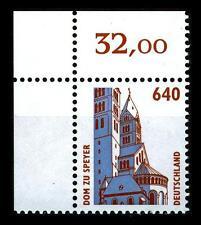 BUND SWK   640 Pf. **, Mi. 1811 (Dom zu Speyer) -  Ecke o.l.