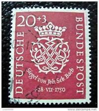 ALLEMAGNE RFA - timbre - yvert et tellier n°8 obl - stamp germany