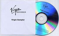 Virgin Sampler UK 19-trk promo-only publishing CD Air Jamie T Massive Attack