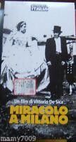 VHS= Miracolo a Milano (1951) VHS =CINEMA ITALIA/L'UNITA=N°9 DELLA COLLANA