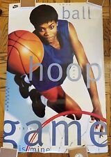 1994 Vintage Original Nike Poster Sheryl Swoopes,This Game is Mine
