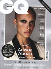 GQ UK October 2017 Men of the Year Awards ADWOA ABOAH Nick Cave @NEW@
