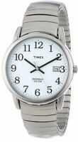 Timex T2H451, Men's Easy Reader Expansion Band Watch, Indiglo, Date T2H4519J