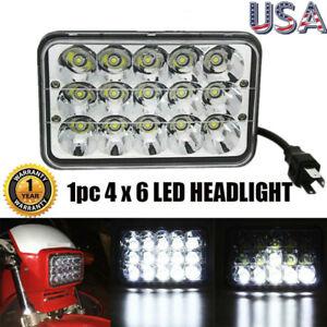 "LED Conversion Headlight Lamp(4x6"" Bulb) for Honda XR250 XR400 XR650 Suzuki DRZ"