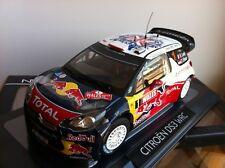 Citroën ds 3 wrc championne du monde 2011 au 1/18