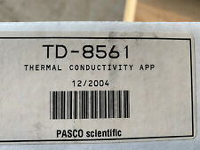 Pasco Scientific Thermal Conductivity Apparatus TD-8561