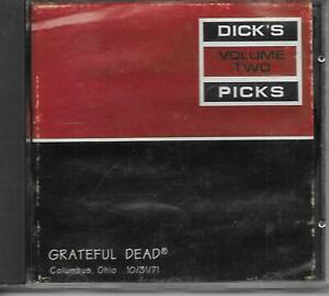 GRATEFUL DEAD Dick's Picks Volume Two CD Columbus, Ohio 10/31/71