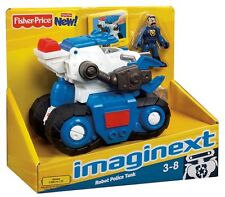 IMAGINEXT PIRATE WHALE VEICOLO BASE ROBO POLICE - FISHER PRICE - 027084905359
