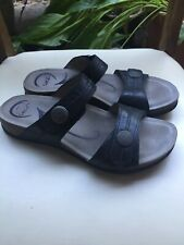 Abeo Women's Barbara Slides Sandals Black Size US 9 Nuetral