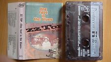 ZZ Top - One Foot In The Blues  POLAND TAPE EX/EX...FREE SHIPPING
