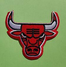 Parche escudo termoadhesivo bordado TORO ROJO Bull