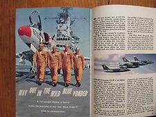 Feb.-1961 TV Guide(THE BLUE ANGELS/MAUREEN ARTHUR/JACKIE GLEASON/GEORGE  MAHARIS