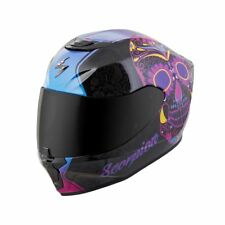 Womens Motorcycle Helmet Scorpion Sugarskull Exo-R420 - Pick Size / Color