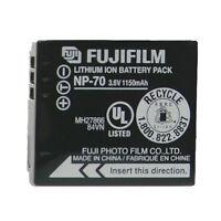 OEM Fujifilm NP-70 NP70 Original Camera Battery FinePix F45fd F40fd F20 1150mAh