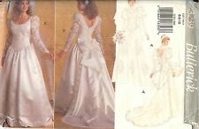 Butterick 3239 Bridal Gown Wedding Dress sewing pattern size 6-8-10 UNCUT FF NEW
