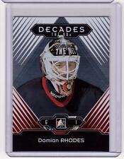 DAMIAN RHODES 13/14 ITG Decades 1990s #45 Ottawa Senators Base SP Hockey Card