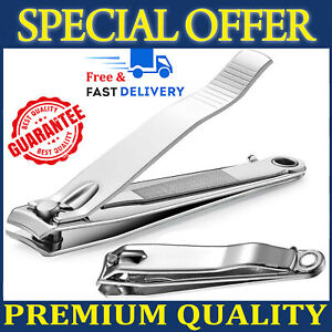 Toe Nail Clippers Cutters Large Heavy Duty Trimmer Nipper Finger Effortless