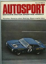 Autosport March 29th 1968 * sebring 12 H & Ford Cortina 1600E Essai Routier