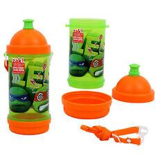 TMTN Teenage Mutant Ninja Turtles Sip n Snack Sport Drinking Tumbler Cup Canteen