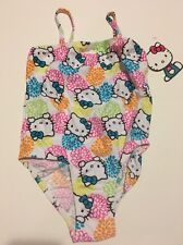 Girls Hello Kitty One Piece Swimsuit Size 4 Multicolor NWT Cruise