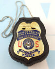 Bail Fugitive Recovery Agent Metal Badge